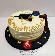grooms cake dog grooms cake croissants myrtle bistro bakery