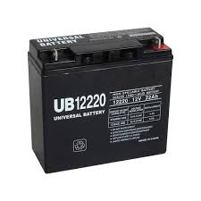 upg sealed lead acid battery u2014 agm type 12v 22 ah model