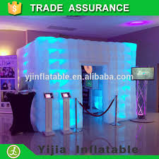 cheap photo booth portable led cube tent for photo booth machines in