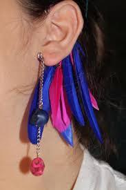 how to make feather ear cuffs diy tutorial diy ear cuffs diy feather ear cuffs bead cord