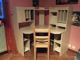 bureau dans une armoire grand bureau d angle caisson de bureau design la rochelle with