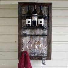 industrial pipe wine racks metal decorative wine rack wall hanging