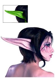 Elf Halloween Costumes Night Elf Prosthetic Kit Warcraft Costume Accessory
