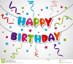 happy birthday greeting card design stock vector image 44437414