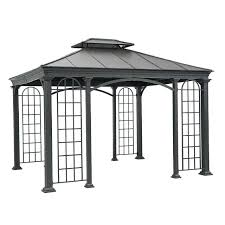 12x12 Patio Gazebo Idea Outdoor Patio Gazebo And Ft X Ft Hardtop Garden House 71