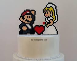 mario cake topper mario cake topper etsy