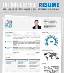 Graphical Resume Download Infographic Resume Template Haadyaooverbayresort Com