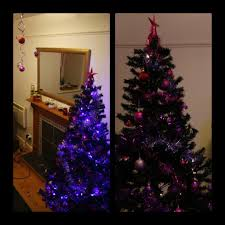 6ft artificial pine black tree bergain in pitlochry perth and