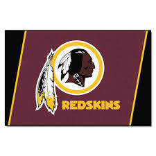 Nfl Area Rugs Fanmats Washington Redskins 5 Ft X 8 Ft Area Rug 6614 The Home
