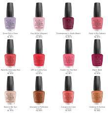 nail polish colors by o albui