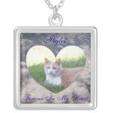 pet memorial necklace pet memorial necklaces lockets zazzle