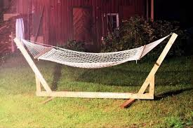 diy hammock chair stand with simple frame interior design ideas
