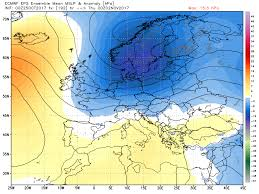 Jet Stream Forecast Map Pattern Change To Bring Colder Conditions For Halloween U0026 Start Of
