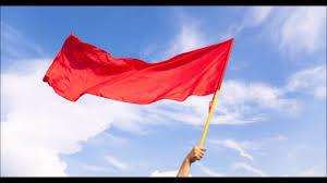 Flying Flag The Red Flag Youtube