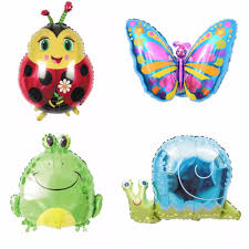 aliexpress com buy 1pc cute cartoon animal foil balloon for