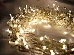 100 warm white led fairy lights 10m clear cable battery operated