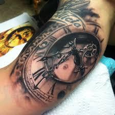 15 wonderful clock tattoos tattoodo