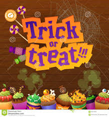 halloween wood background happy halloween trick or treat greeting card stock vector image