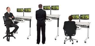 orbis height adjustable work desk how do adjustable height desks