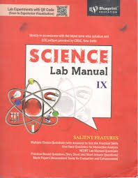 blueprint education science lab manual with practical notebooks