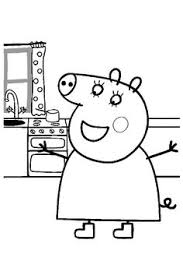 coloriage peppa pig à colorier dessin à imprimer card ideas