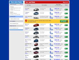 rent a mustang in usa usrentacar co uk car hire usa national car rental