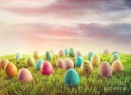 easter backdrops easter eggs in grass photograph by cunningham