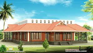 single level designer home floor house plansone designs in kerala
