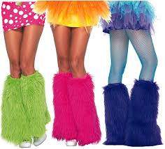 mardi gras leg warmers fuzzy leg warmers search up leg