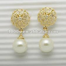 s gold earrings gold earring designs for women pearl earring view pearl earrings