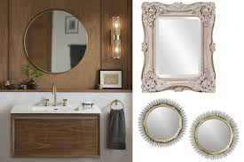 Bathroom Cabinets Seattle New Trend In Bathrooms Statement Vanity Mirrors The Seattle Times