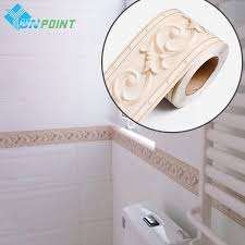 Decorative Tile Borders Bathroom Online Get Cheap Border Wall Paper Aliexpress Com Alibaba Group