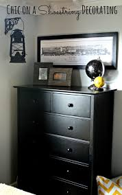 8 Year Old Boy Bedroom Ideas Chic On A Shoestring Decorating Bigger Boy Room Reveal