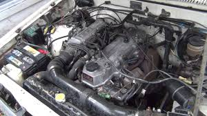 toyota motor 1985 toyota 22re fuel injection engine youtube