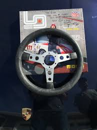magnus walker porsche wheels signed momo prototipo magnus walker edition steering wheel silver