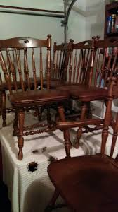 solid oak table with 6 chairs solid oak table with 6 chairs leather furniture in portland or