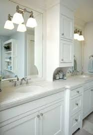 white bathroom cabinet ideas wall mounted lighting and narrow medicine cabinet with