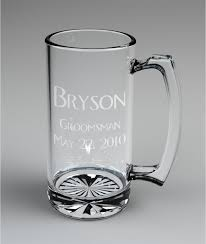 engraved wedding gift 5 personalized groomsman mugs custom engraved wedding gift