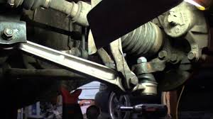 mitsubishi eclipse lower lateral control arm replacement youtube