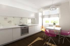 kitchen backsplash wallpaper ideas stunning white small kitchen ideas with floral wallpaper backsplash