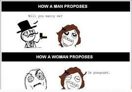 Proposal Meme - proposal men vs women imglulz