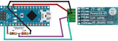 hc 06 bluetooth module on arduino nano arduino stack exchange