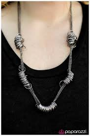 accessories ring necklace images Paparazzi accessories that has a nice ring to it black jpg