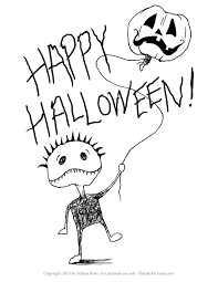 Free Halloween Coloring Page by 100 Free Printable Halloween Coloring Page Best Coloring