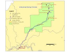 Florida Springs Map by Ichetucknee Springshed Working Group Suwannee Hydrologic Observatory