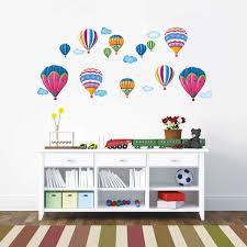 heißluftballon kinderzimmer wandsticker heißluftballons megapack wandsticker kinderzimmer