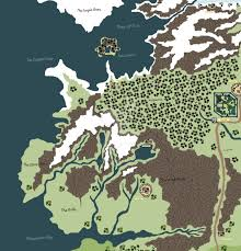 Map Westeros Westeros Map The North Left Part By Jurassicworldfan On Deviantart