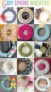 15 diy spring wreaths artsy fartsy mama