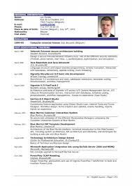 Resume Structure Example Of Resume Resume Example And Free Resume Maker
