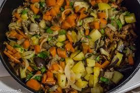cuisiner l aubergine à la poele confit de canard aux légumes d automne kilometre 0 fr